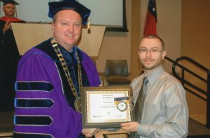 Middle Georgia State University President's Scholar Award