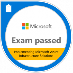 Exam 533: Implementing Microsoft Azure Infrastructure Solutions